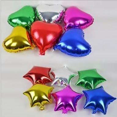 Foto Produk Balon Foil Love / Hati & Star / Bintang Mini dari SRI RATU
