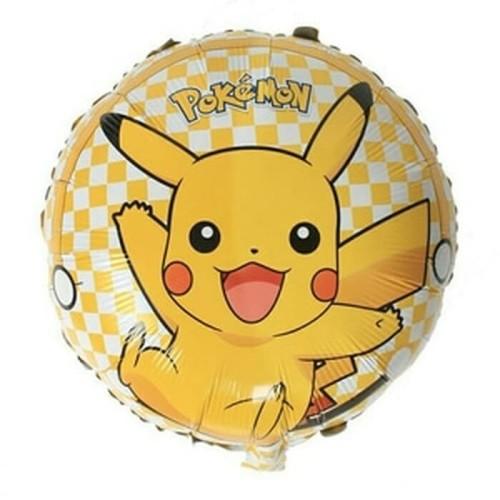 Foto Produk Balon Foil Pikachu Bulat dari SRI RATU