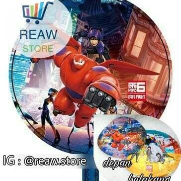 Foto Produk Balon Foil Baymax Bulat dari SRI RATU