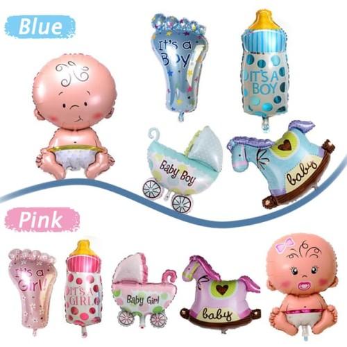 Foto Produk Balon Foil Set Baby Girl Mini dari SRI RATU