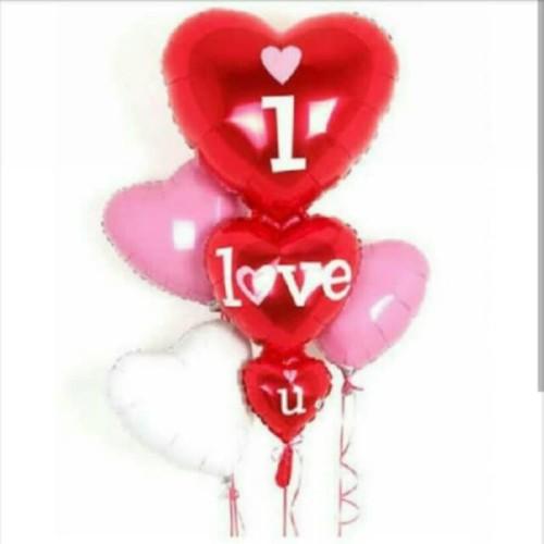 Foto Produk Balon Foil I Love You Besar dari SRI RATU