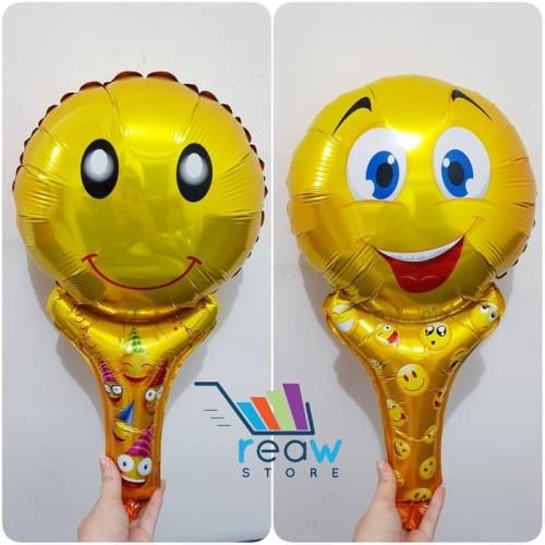 Foto Produk Balon Foil Pentungan / Tongkat Emoticon Smile dari SRI RATU