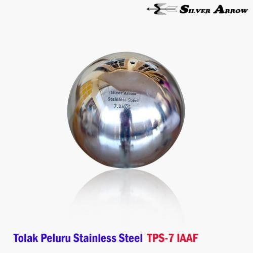 Foto Produk Tolak Peluru Stainless Steel 7Kg IAAF SILVER ARROW TPS07 dari Enlio Sport