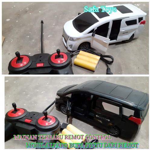 Foto Produk RC Mobil Alpard Buka Pintu Dari Remot Control Free 2biji baterai remot - Putih dari Sa-fa Toys