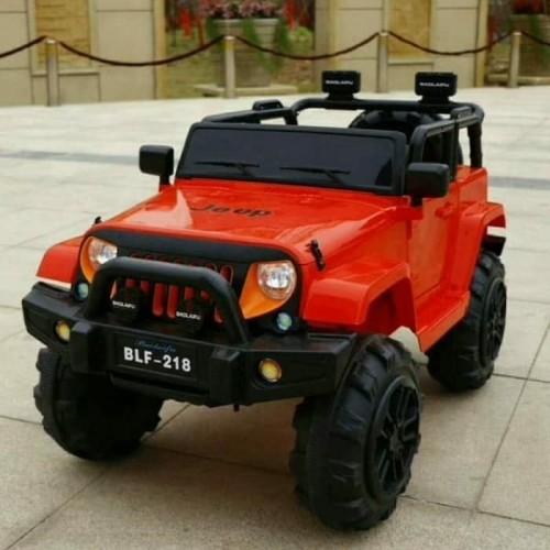 Foto Produk Mainan Mobil Aki Anak Type JEEP - BLF 218 dari Mykidshop89