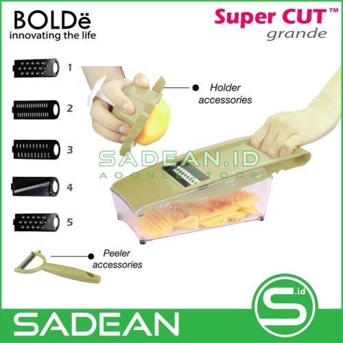 Foto Produk Serutan Serbaguna BOLDe Super Cut Grande Parutan Kentang Labu DLL dari Sadean