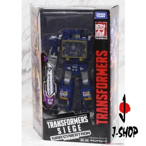 Foto Produk Transformers SG-24 - Soundwave dari J-SHOP INDONESIA