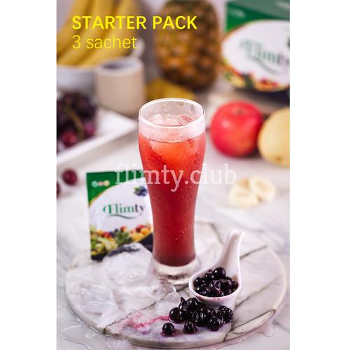 Foto Produk Flimty Detox Usus - GRATIS ONGKIR - paket Hemat Starter (isi 3 sachet) dari manuraya