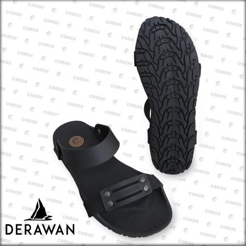 Foto Produk [Official] Sandal Camou Pria DERAWAN Hitam - Hitam, 39 dari Camou Sandal