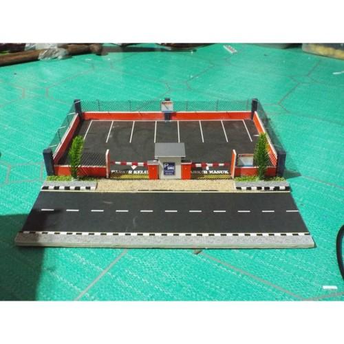 Foto Produk Diorama parkir dengan in & out dari Malangdiorama