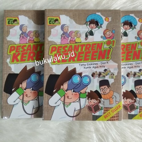 Foto Produk Komik Anak Muslim : Pesantren Kereeen #Buku Anak Islam dari bukulaku.id