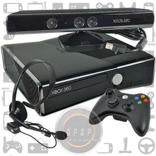 Foto Produk Xbox Slim 360 RGH dan Kinnect dari dpopshop