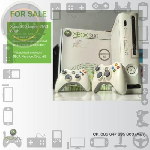 Foto Produk Xbox 360 Jasper JTAG 60gb dari dpopshop