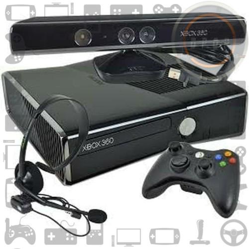 Foto Produk Xbox 360 Slim Kinect Hardisk 250gb dari dpopshop