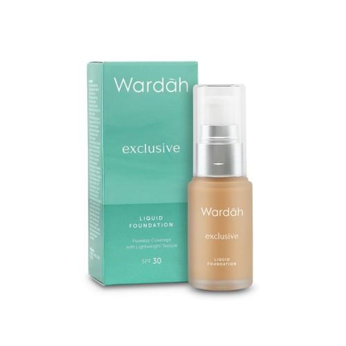 Foto Produk [NEW] Wardah Exclusive Liquid Foundation 04 Natural 20 ml dari Wardah Official