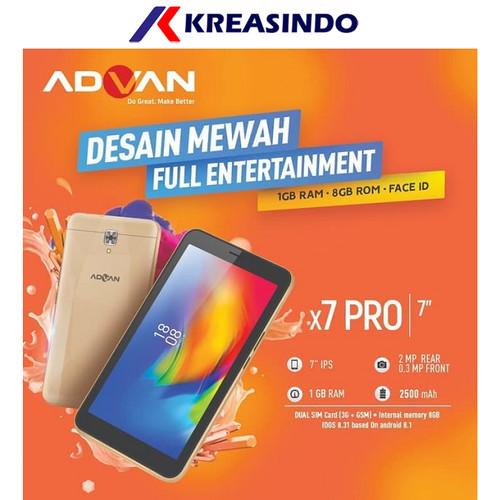 "Foto Produk Advan X7 Pro Ram 1gb Tablet 3g 7"" Garansi resmi dari Kreasindo Online"