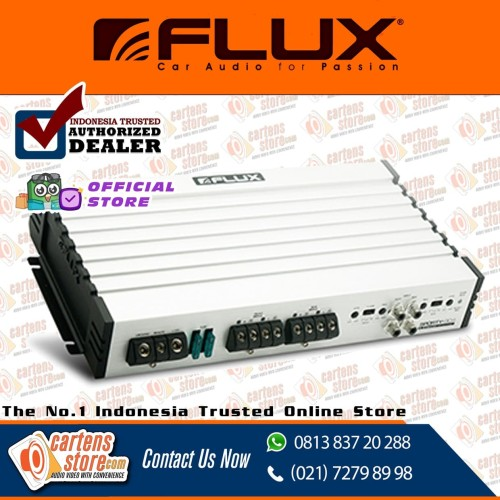 Foto Produk Power Amplifier Flux FS 904 4 Channel By Cartens Store dari Cartens Store