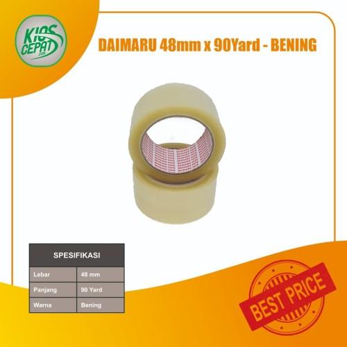 Foto Produk Lakban DAIMARU Bening (48mm x 90Yd) dari KiosCepat