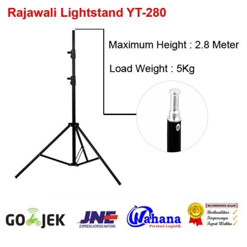 Foto Produk Rajawali Light Stand Besar - YT-280 for Jinbei - Tronic - Godox dari Rajawalidigital