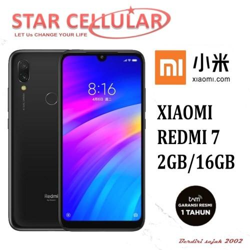 Foto Produk XIAOMI REDMI 7 2/16GB TAM - HITAM dari StarCellular B2B