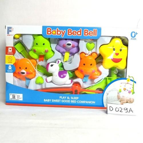 Foto Produk Baby Bed Bell Mainan Bayi Music Box Gantung / Baby Crib Toys & Musical dari GOGO57