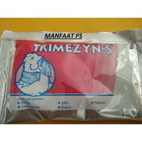 Foto Produk TRIMEZYN serbuk 50 gram obat hewan dari manfaat ps