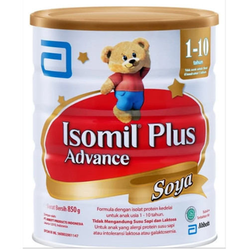 Foto Produk Isomil Plus Advance Soya 850 g (1-10 tahun) dari 98kios