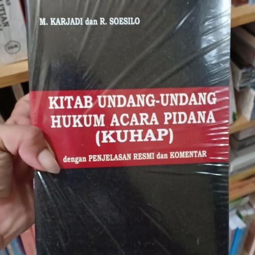 Foto Produk KITAB UNDANG UNDANG HUKUM ACARA PIDANA ( kuhap ) dari GOEDANG_BOOKS