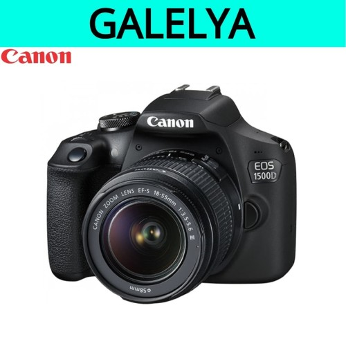 Foto Produk Kamera canon eos 1500d kit 18-55mm IS II dari galelya
