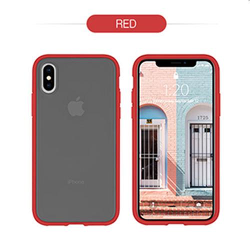 Foto Produk GOOSPERY iPhone XR Peach Garden Bumper Case - Red dari Goospery Indonesia