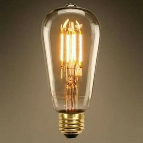 Foto Produk Lampu Filamen 4w Led ST64 Lampu Filament Led Bulb 4 watt Edison Cafe dari Hokiled