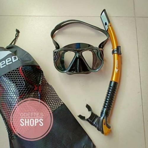 Foto Produk Alat kacamata selam Masker selam Diving mask SPEEDS dari Globalsport