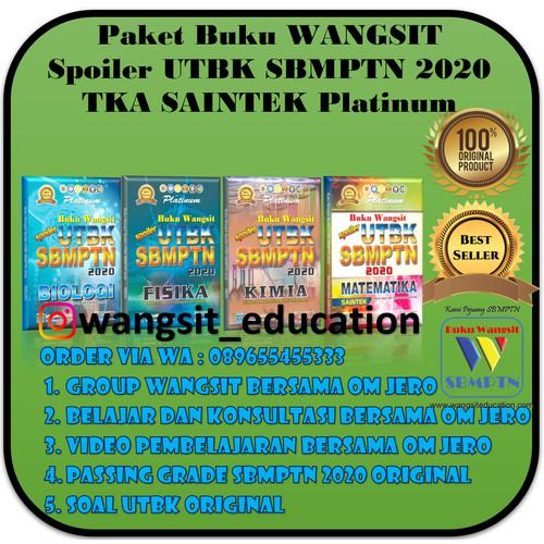 Foto Produk Paket Buku Wangsit Spoiler UTBK SBMPTN 2020 TKA SAINTEK Platinum dari Buku Wangsit SBMPTN