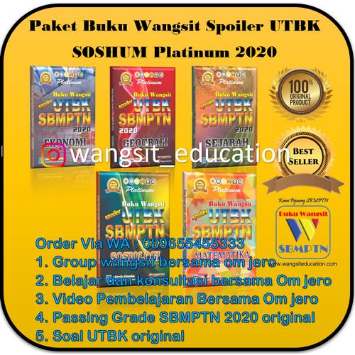 Foto Produk Paket Buku Wangsit Spoiler UTBK SBMPTN 2020 Platinum Soshum dari Buku Wangsit SBMPTN