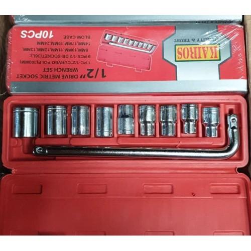 Foto Produk KAIR Tool Kit 10 In 1 Set Kunci Sock Pas SHOCK Sok kenmaster dari SEPATU KECHE