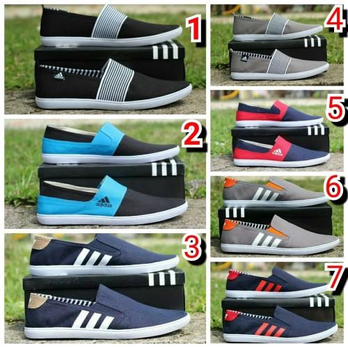 Foto Produk TERLARIS sepatu slip on Adidas TERMURAH dari yans storee