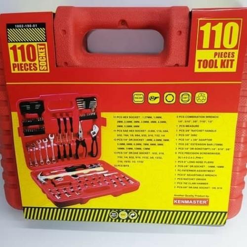 Foto Produk tool kit kenmaster 100 pcs kunci sok kenmaster kunci socket dari aya elektrik jakarta