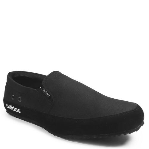 Foto Produk Sepatu Pria Adidas Master Slop Hitam Casual Formal Slip On Santai - Hitam, 39 dari Gudang Sepatu Bandung