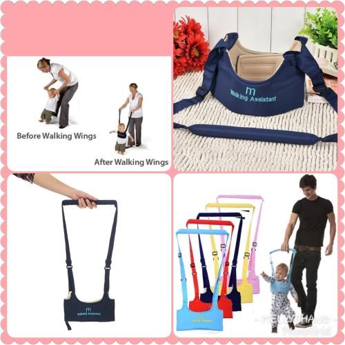 Foto Produk MotherCare baby walking assistant/alat bantu belajar jalan anak-MERAH dari Mellyphang