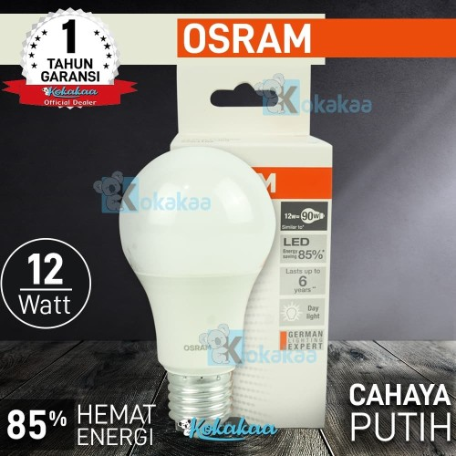 Foto Produk Osram Lampu Bohlam LED 12W (Daya Terang Pijar 90W) Hemat Energi 85% dari Kokakaa