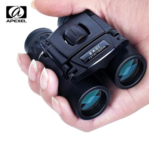 Foto Produk APEXEL Teropong Binoculars Compact Zoom 8x21 - APS-8X21 dari BudgetGadget