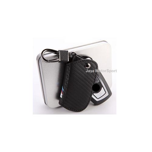Foto Produk 1 Pcs Carbon Fibre Car Key Holder Wallet for BMW M - Model B dari Jaya Motorsport
