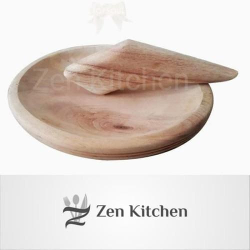 Foto Produk cobek ulekan kayu Uk.mini dari Zenn Kitchen