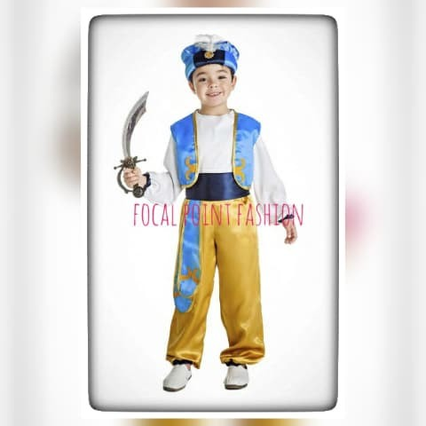 Foto Produk aladdin-kostum-prince-ali-disney-halloween-party-costume dari Focal Point Fashion