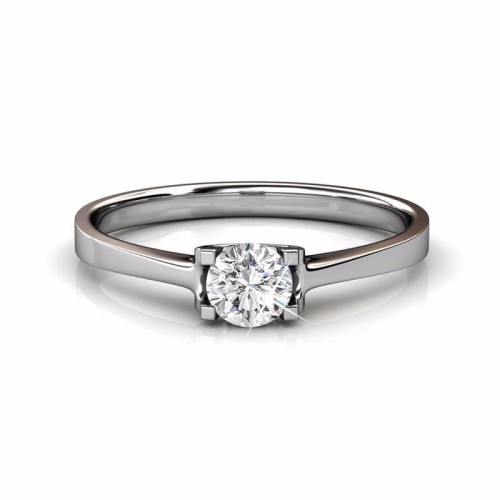 Foto Produk Cariing RIng - Cincin crystal Swarovsky By Her Jewellery - White Gold, 5 dari Her Jewellery