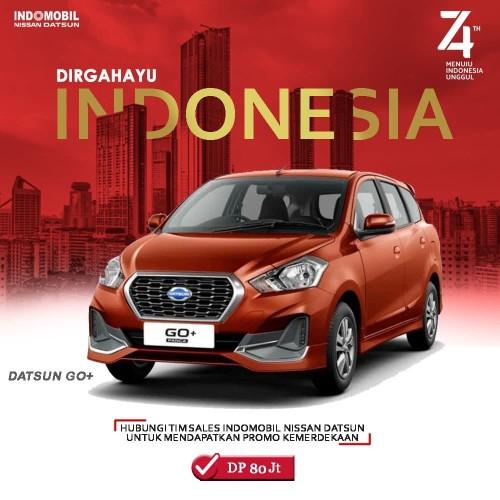 Foto Produk Datsun GO+ Semarak Kemerdekaan Dp 80 Jutaan dari Indomobil Nissan Datsun