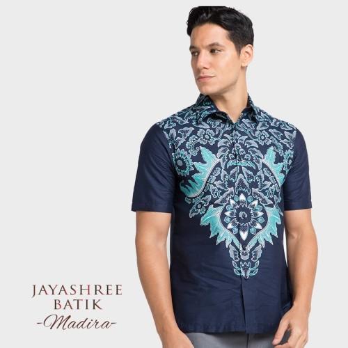 Foto Produk Jayashree Batik Regfit Madira Short Sleeve - M dari Jayashree Batik