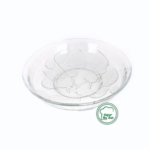 Foto Produk Piring Saji Kaca Bening Besar / Mangkok Saji Kaca Bening Besar dari Dapur Ny.Bun