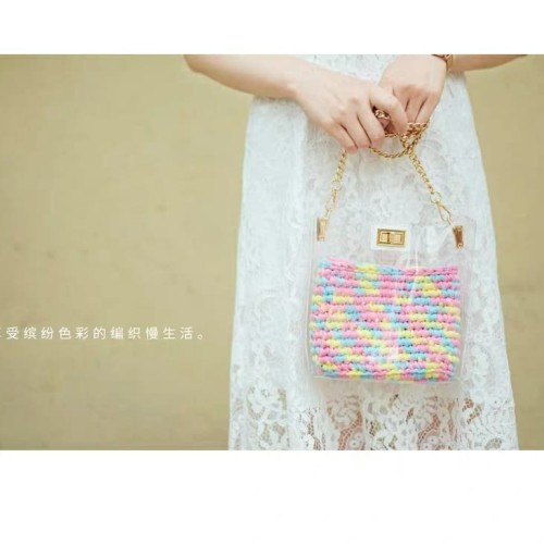 Foto Produk tas bening selempang (tanpa rajutan didalam) dari Primeivon Craft