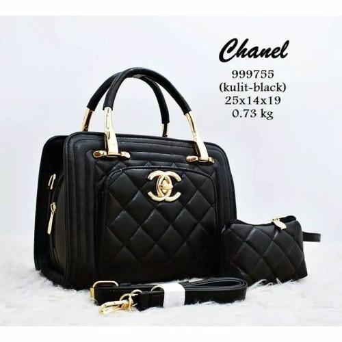Foto Produk tas wanita chanel 999755/tas wanita import murah'tas wsnita branded dari keyla ciwis shop